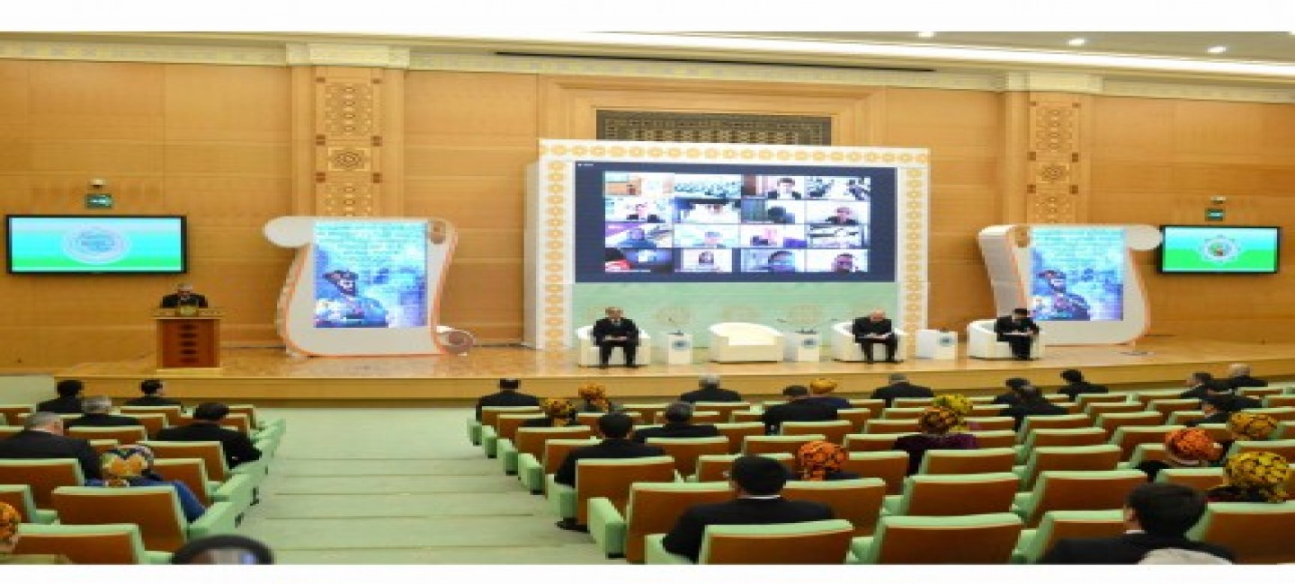 "THE INTERNATIONAL FORUM ""MUHAMMET BAYRAM HAN - THE TURKMEN AND TRADITIONS OF HUMANISM, PATRIOTISM AND COURAGE OF THE TURKMEN PEOPLE"" BEGAN ITS WORK IN TURKMENISTAN"