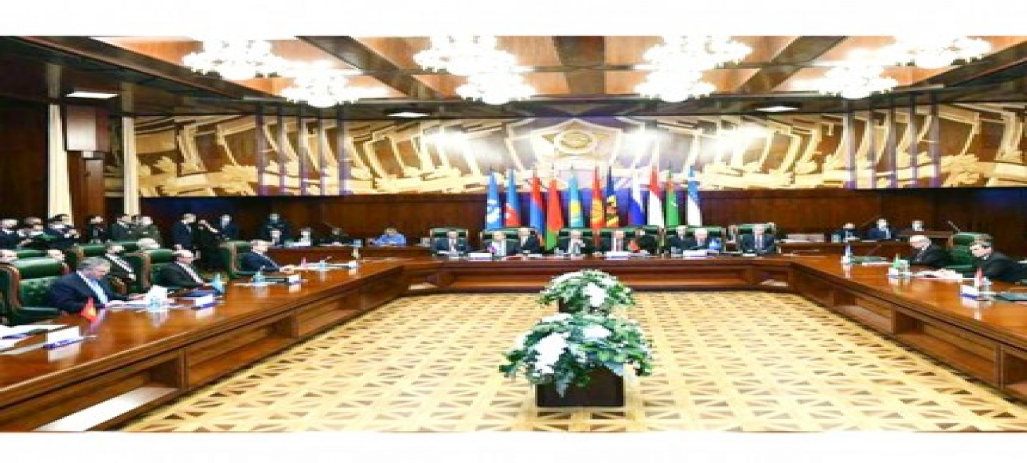 MEETING OF THE FOREIGN MINISTERS' COUNCIL OF THE CIS PARTICIPATING STATES WAS HELD IN MOSCOW
