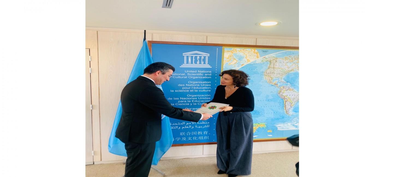 PERMANENT REPRESENTATIVE OF TURKMENISTAN WAS ACCREDITED NEAR UNESCO