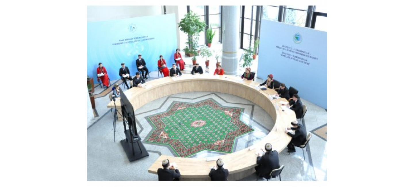INTERNATIONAL PEACE AND TRUST YOUTH FORUM WAS HELD IN ASHGABAT