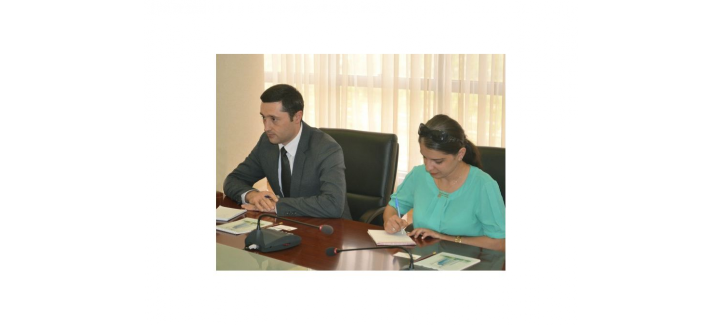 MEETING WITH EXECUTIVE DIRECTOR OF THE REGIONAL ENVIRONMENTAL CENTER FOR CENTRAL ASIA WAS HELD IN ASHGABAT