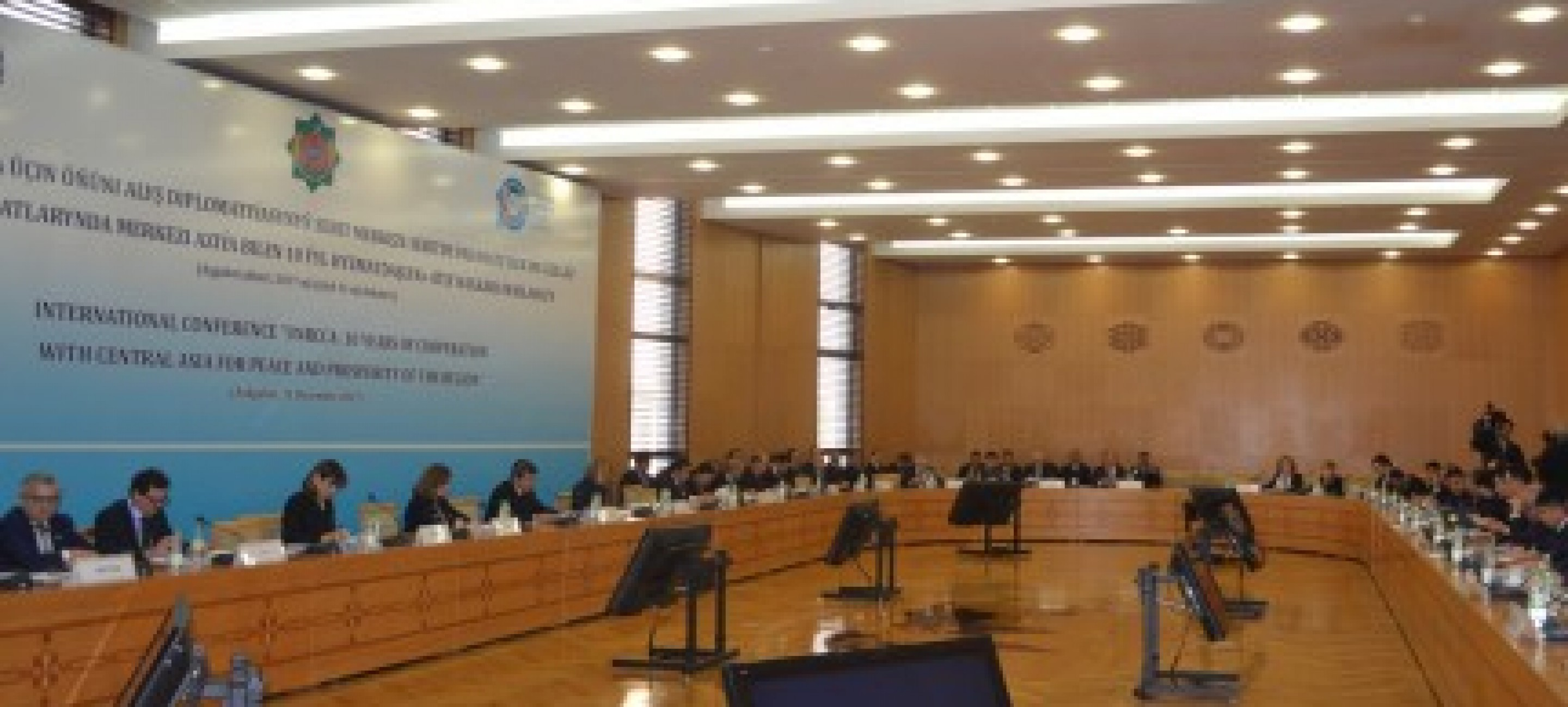 "INTERNATIONAL CONFERENCE ""UN REGIONAL CENTER FOR PREVENTIVE DIPLOMACY FOR CENTRAL ASIA: 10 YEARS OF COOPERATION WITH CENTRAL ASIA FOR PEACE AND PROSPERITY OF THE REGION""HELD AT THE MFA OF TURKMENISTAN"